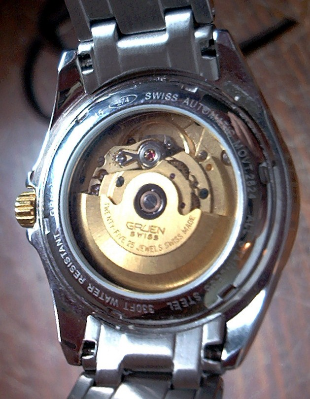 Basic watch terminology for Auto movement watches