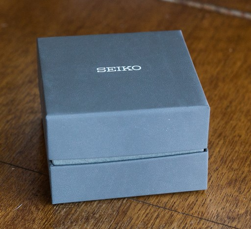 Seiko SKX007 Unboxing - Finally, the box holding the watch itself