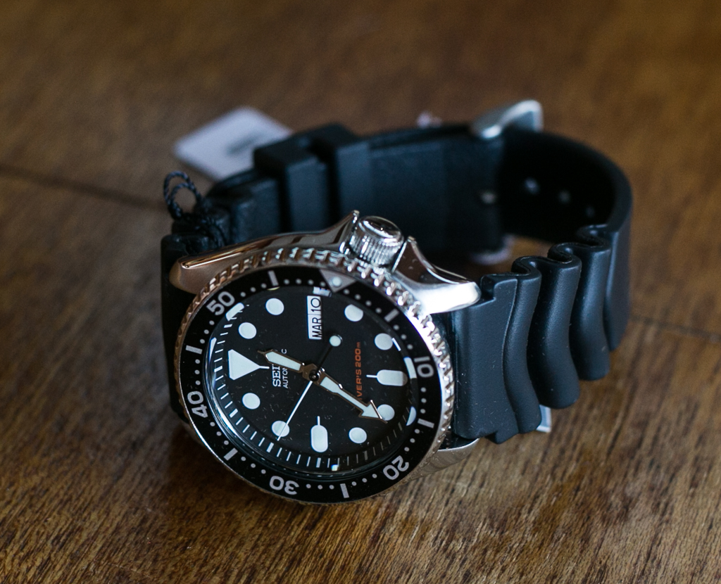 Seiko Skx007 Dive Watch Unboxing