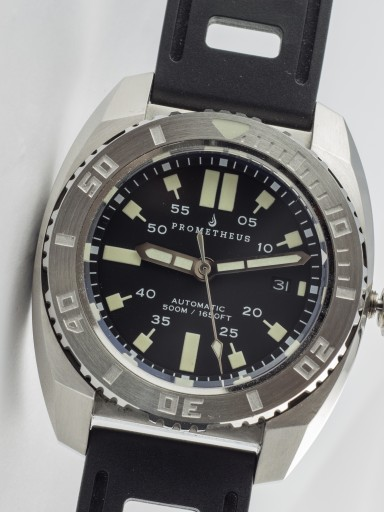 Prometheus Piranha dive watch