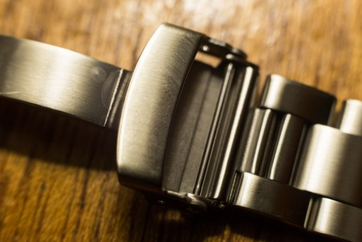 Strapcode Super Oyster Review – Bracelet Clasp Open