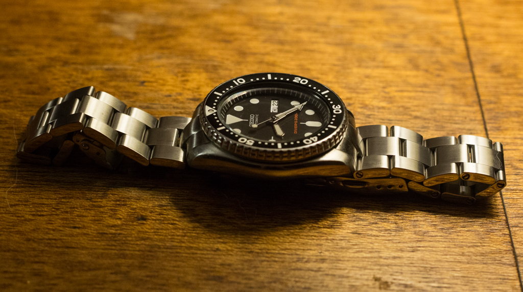79a4111c8210 Strapcode Super Oyster Review – Seiko SKX007 With Oyster Bracelet II