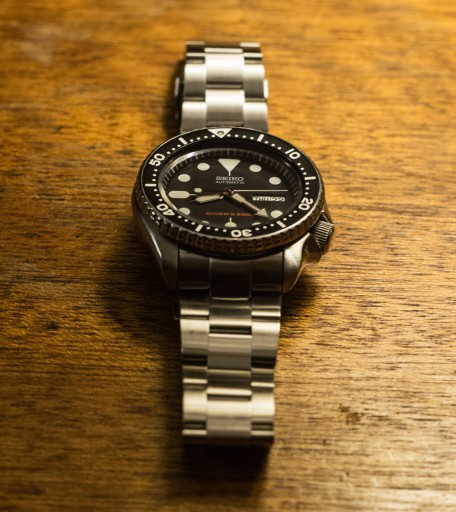 Strapcode Super Oyster Review – Seiko SKX007 With Oyster Bracelet 2