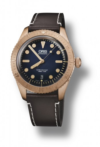 Oris Carl Brashear Limited Edition Bronze Diver
