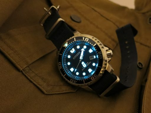 Citizen BN0151-09L Lume Shot