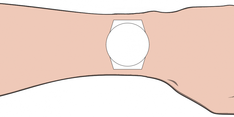 Handy wrist watch sizing webapp tool from Dive Watches Blog
