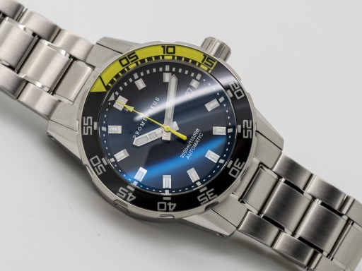 Prometheus Poseidon 3500m Yellow dive watch