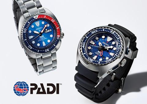 Seiko and PADI have teamed up to create two limited edition dive watches.