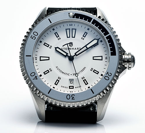 Steinhart Ocean Two White dive watch