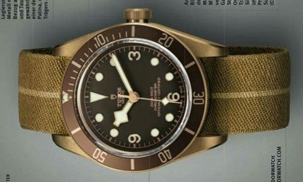 Tudor Black Bay Bronze dive watch