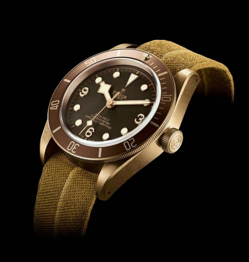 Tudor Black Bay Bronze profile
