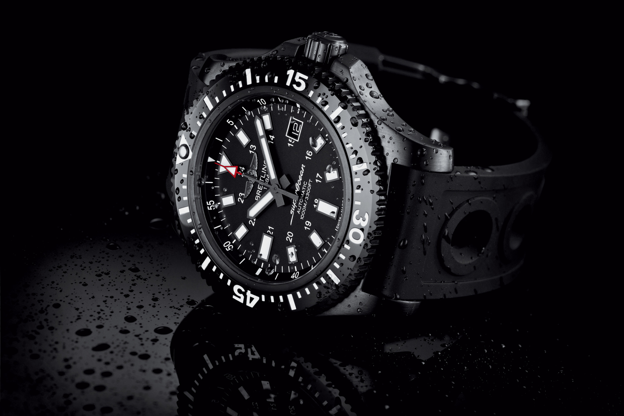 The new breitling superocean 44 special - Oceanic dive watch ...