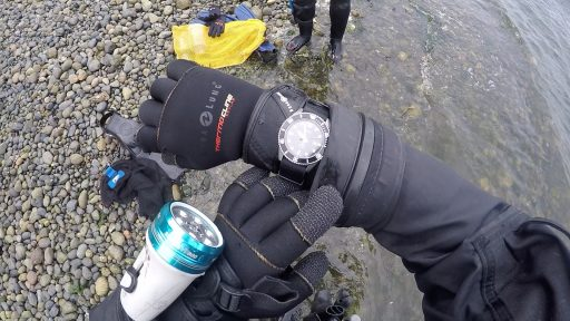 Casio MDV106-1A Review – Diver Wristshot On Beach