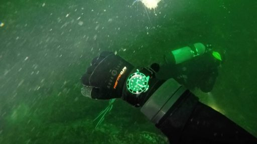 Casio MDV106 Review – Diving in the Hood Canal wrist shot