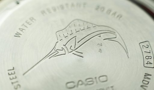 Casio MDV106 Review – Marlin on case back