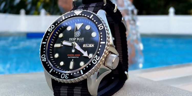 Deep Blue NATO Diver 300 Black