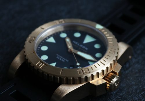 Helson Shark Diver Brass