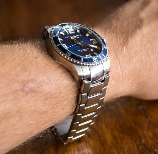 Stuhrling Aquadiver Regatta Review – Bracelet-3