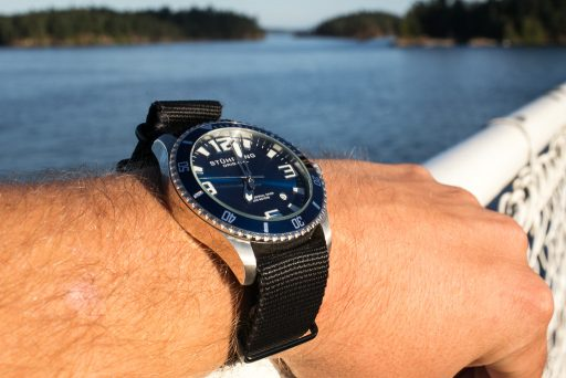 Stuhrling Aquadiver Regatta Review – Islands Wrist Shot