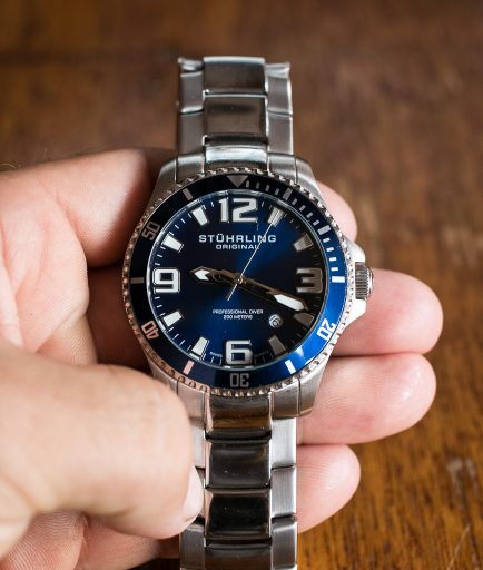 Stuhrling Aquadiver Regatta Review – Unboxing-7