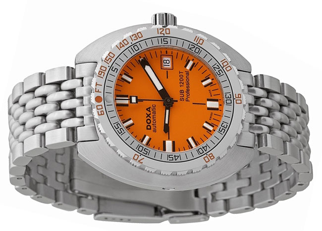Best Orange Divers – DOXA SUB1200T
