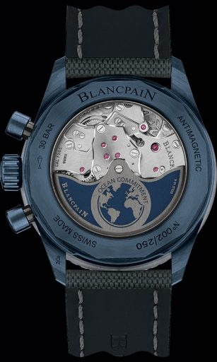 Blancpain Ocean Commitment II Case Back