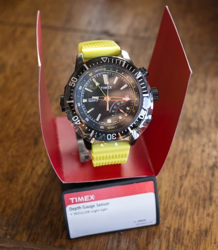 Timex Depth Gauge Review – Open box front
