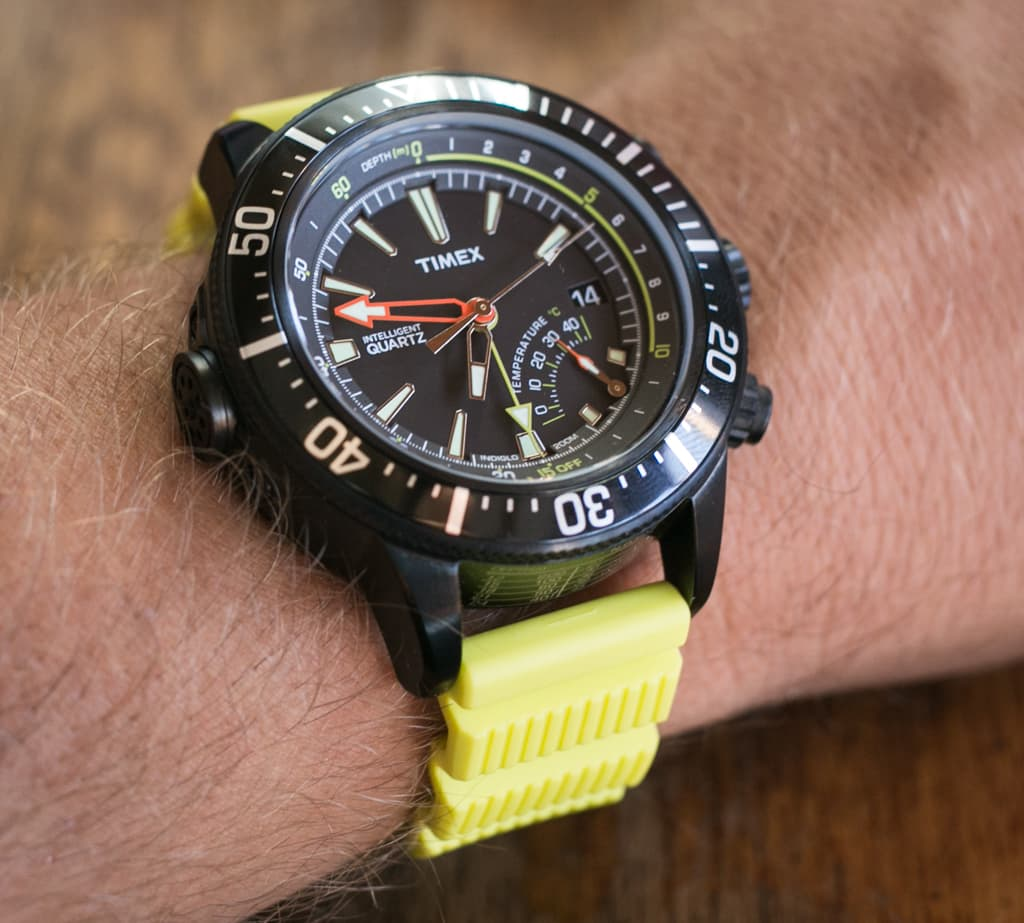 Timex Depth Gauge Review – Wrist Shot