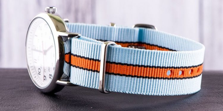 Best Orange Straps – Light Blue and Orange