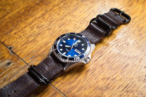 Orient Ray II Review – Leather Strap