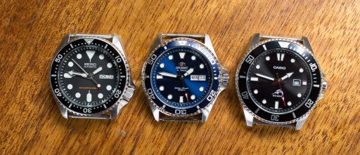 Orient Ray II Review – Seiko SKX007 vs. Orient Ray II vs. Casio MDV106-1A