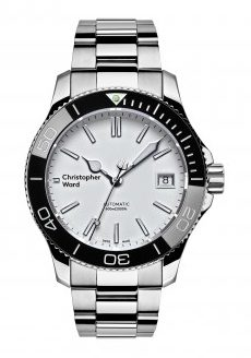 Christopher Ward C60 Trident Pro 600 White