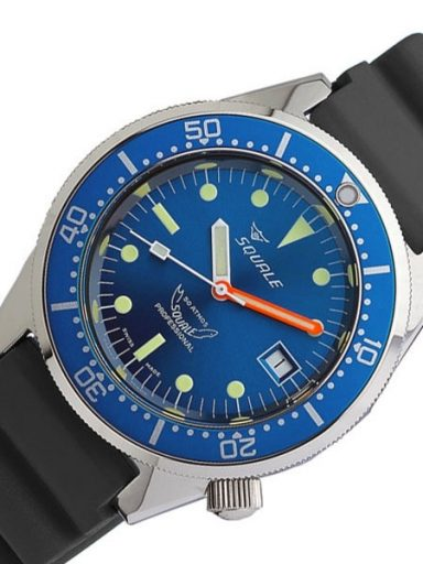 Squale 50 Atmos Blue Dial