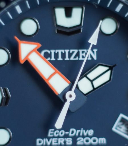 Citizen Promaster Diver Review – BN0151-09L Handset