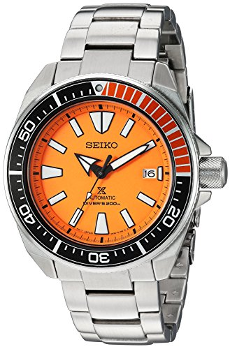Seiko SRPC07 Orange Samurai manufacturer photo