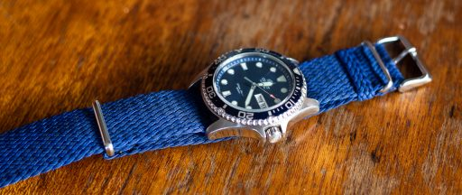 Clockwork Synergy Strap Review - Single Braid Perlon NATO Strap
