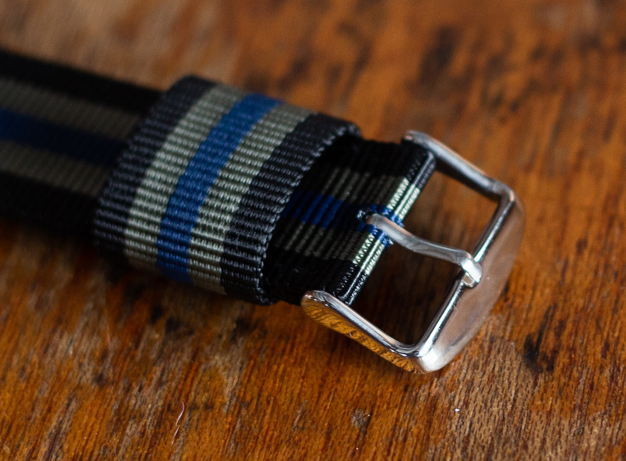 Clockwork Synergy Strap Review - RAF Nylon Two Piece Strap