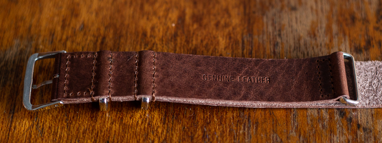 Clockwork Synergy Strap Review - Leather NATO