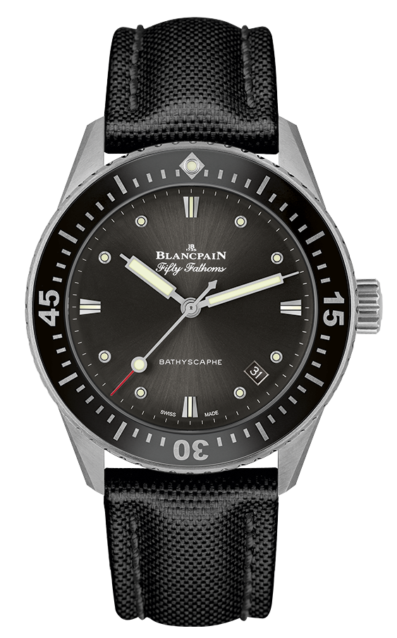 Best Ladies Dive Watches - Blancpain Fifty Fathoms Bathyscaphe Black