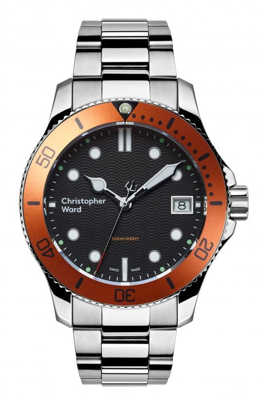 Best Women's Dive Watches - Christopher Ward C60 Trident 300 Orange