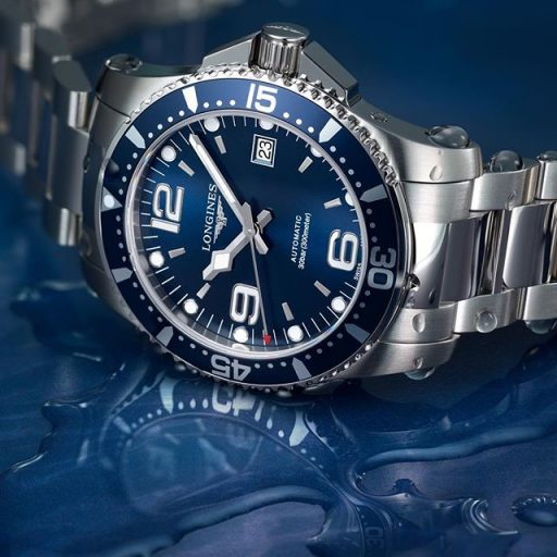 Best Ladies Dive Watches - Longines HydroConquest Blue Steel