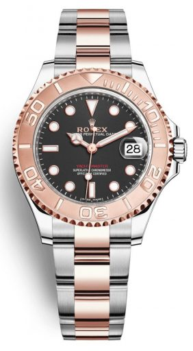 Best Women's Dive Watches - Rolex Yachtmaster 37 Rose Gold
