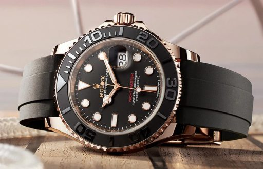 Best Ladies Dive Watches - Rolex Yachtmaster 37 Black Gold