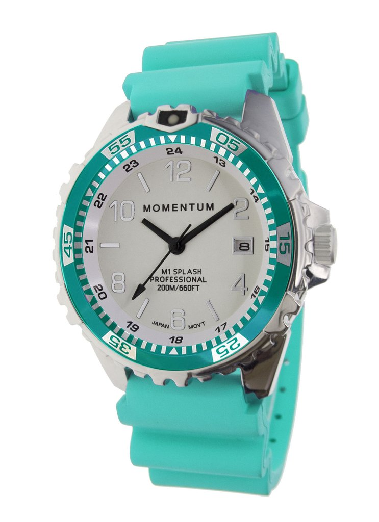 Best Women's Dive Watches - Momentum M1 Splash Green